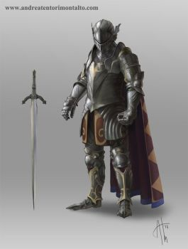 Knight by AndreaTM