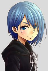 Bluehair Blackhoodie by NickBeja