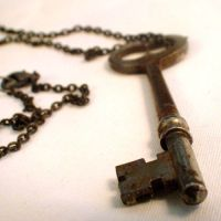 Authentic Vintage Key Necklace by SteamSociety