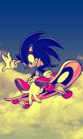 Sonic Skate Wallpaper (Warm Version) by DJ7493