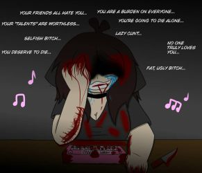 (BLOOD/VENT WARNING) The Happy Piano by ShadAmyfangirl129