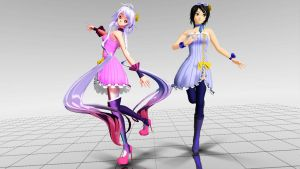 Maika y Clara Macaron Dress (Download) by Nayuki-chin