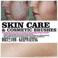 Skin Care and Cosmetic Brushes by KeepWaiting