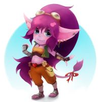 Tiera the Yordle by MoritoAkira