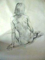 Figure Drawing by sephiroths-muse