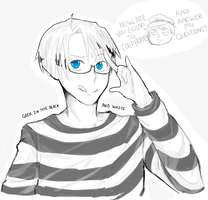 Geek In The Black and White by AnayssaLovesU