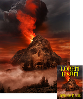 Mt. Dontgothere Premade Book Cover by Viergacht
