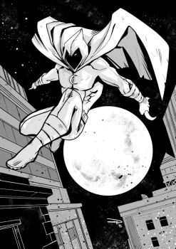 Moon Knight by DenisM79