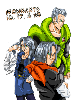 Remnants 16, 17, and 18 by way2thedawn