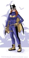 Batgirl by TheDoubleB
