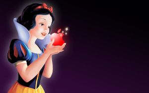 Snow White Mac Apple by laurag53