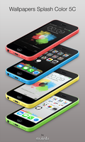 Wallpapers iOS7 LS/SB : Color Splash by Svink77