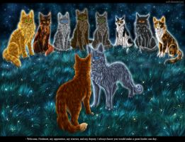 Firestar's 9 lives by Vialir
