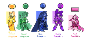 Sapphire Adopts (4/5 OPEN) by MisterFrostyButt