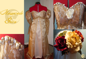 Masqurade Gown by Upon-a-RemStar