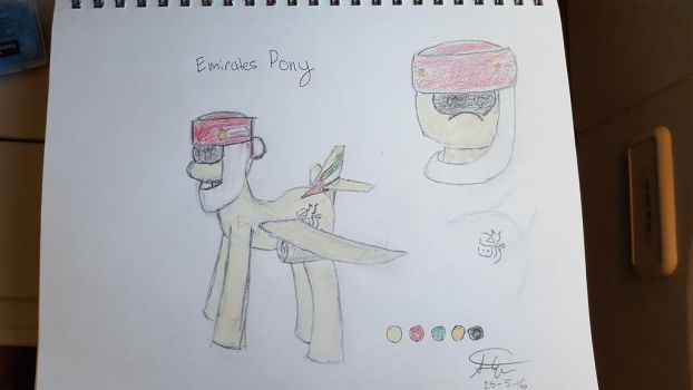 Emirates Pony by StephenWinter