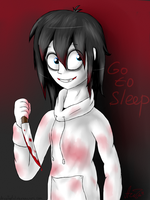 Jeff the Killer  by ArtyJoyful