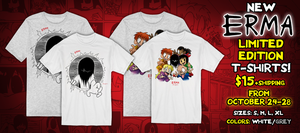 NEW LIMITED EDITION ERMA T-SHIRTS!! by OUTCASTComix