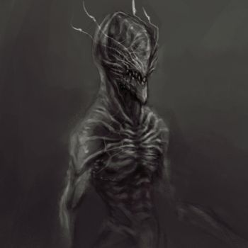 Alien Sketch by zae1X
