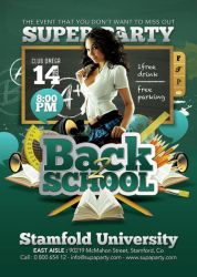 Back To School Super University Party by n2n44