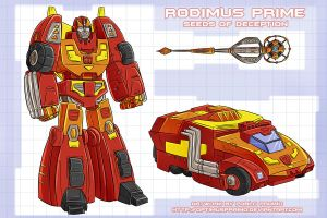 Rodimus Prime - SOD by OptimusPraino