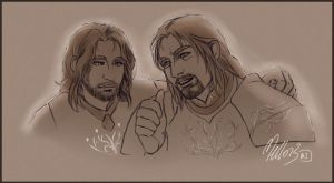 Sons of Gondor by MellorianJ