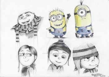Dispicable me (2) by margarita053