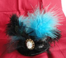 Tiny Tophat in Teal for Cosplay by Sparkling-Sky