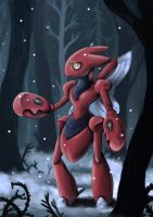 Scizor by land-walker