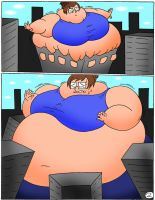 Over eating part 2 page 2 by Robot001