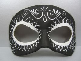 Reverse Day of the Dead mask 2 by maskedzone