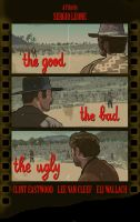 Good, bad, ugly poster by MrStitch