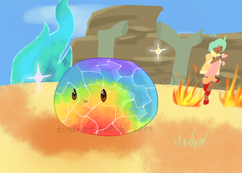 Mosaic Slime [Slime Rancher] by Tindraake