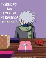 Kakashi Valentine Card by BotanofSpiritWorld