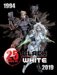 25 years of my book BLACK and WHITE by aethibert