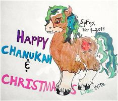 Happy Holidays 2014 by SpellboundFox