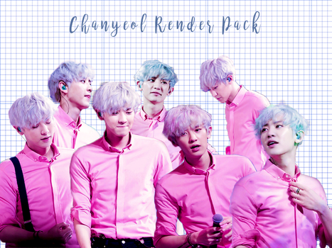 Pack PNG #83 Chanyeol (EXO CONCERT) by XieraaaPark