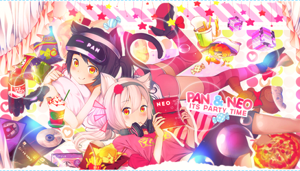 Party time collab by MateNeo