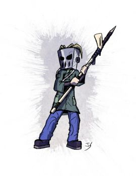 Cool Mask Guy by Jaystab