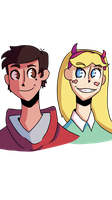 marco and star by Practice-N-Artz
