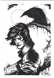 The Crow by Ace Continuado by kendiwan1987