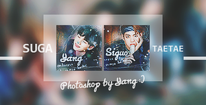 #232 BTS Suga V for Siguo by Yangyanggg