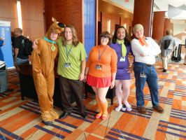 Scooby-Doo Group Otakon 2016 by bumac