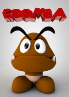 Goomba by The3DLeopard