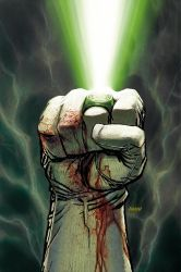 Green Lantern cover part 2 by Devilpig