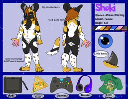 Reference Sheet: Shoki by ShokiDeNai