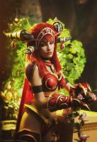 Alexstrasza - All life is to be treasured by Narga-Lifestream
