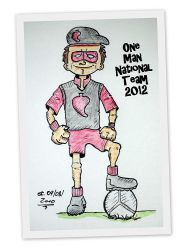 One man national team by SteffenL