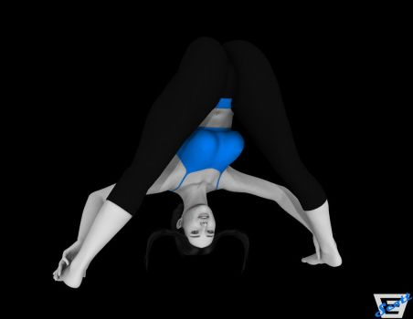 Smexy Wii Fit Trainer by ImfamousE