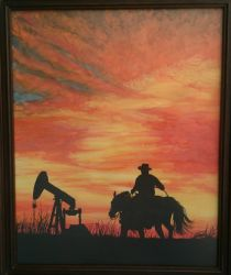 Texas Sunset by Laura10June